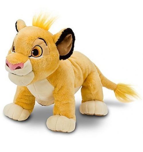 7 Inch Simba Peluche - Lion King Peluche
