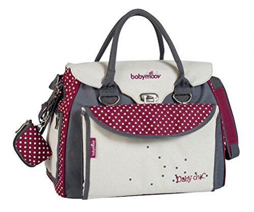 Babymoov Baby Chic A043510 - Bolso maternal, color rojo