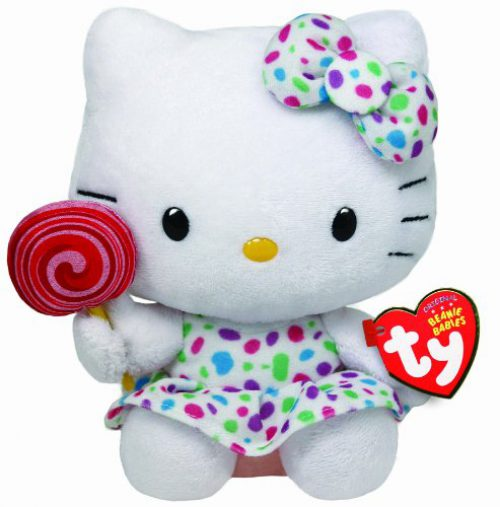 Hello Kitty - Peluche piruleta