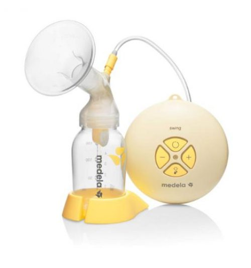 Medela Swing - Sacaleches, Extractor de leche eléctrico automático simple